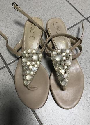 Босоножки фирменные стильные модные дорогой бренд lola cruz ра...