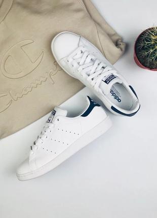 "Кроссовки Adidas Stan Smith ""White/Blue"""