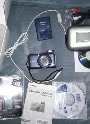 Canon PowerShot SX210 IS blue