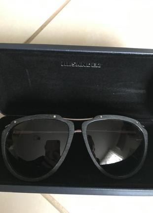 Очки солнцезащитные фирменные дорогой бренд оригинал jil sander