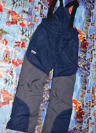 Полукомбинезон, зимние термо штаны ketch alpine на мальчика 128см