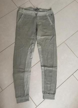 Штаны спортивные трикотажные известного бренда garcia jeans ра...
