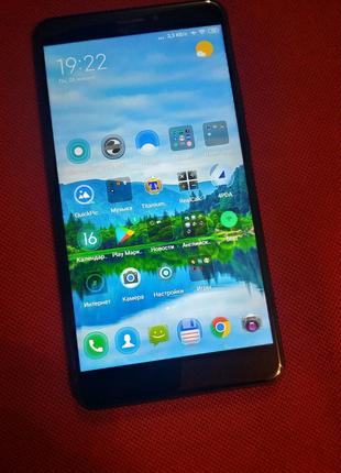 Смартфон Xiaomi Mi Max 2 4/64GB Black  Global version +5 бамперов