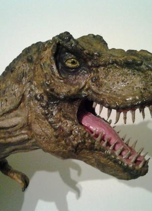 Динозавр, T-rex, Парк юрского периода, Dinosaur, рукоделие