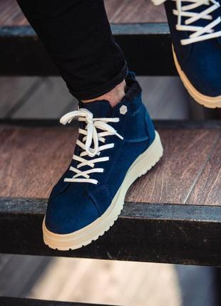 Ботинки south navy