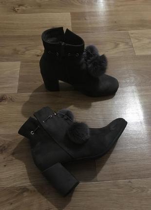 Тёплые фирменные ботинки от answer рр 40