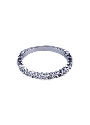 Кольцо из серебра 925 пробы с покрытием из родия галант