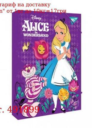 """Папка для тетрадей YES картонная В5 """"Alice"""""""