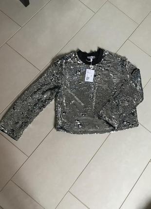 Блуза фирменная модная стильная дорогой бренд other stories ра...