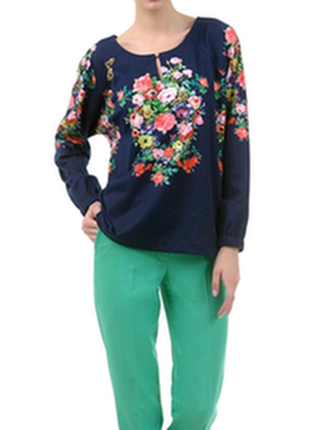 Костюм брюки кофта блуза lesya