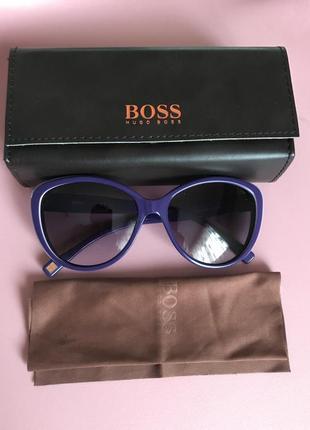 Очки солнцезащитные фирменные дорогой бренд hugo boss