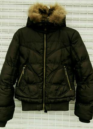 Куртка женская haolewei зимняя на холофайбере размер s