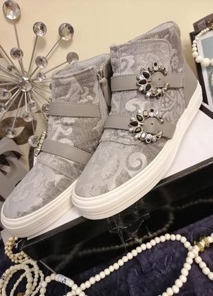 Ботинки слипоны        nine west