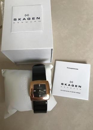 Часы наручные фирменные дорогой бренд skagen оригинал