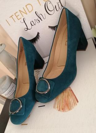 Замшевые туфли naturalizer