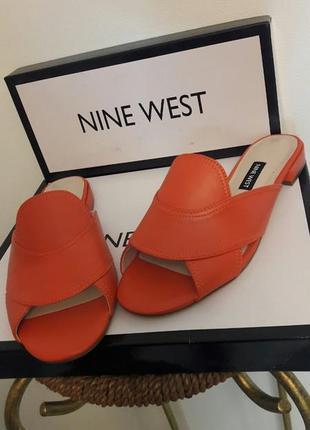 Шлепанцы мюли nine west