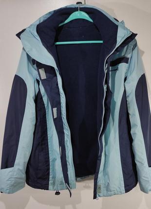 Женская спортивная куртка на флисе размер 46