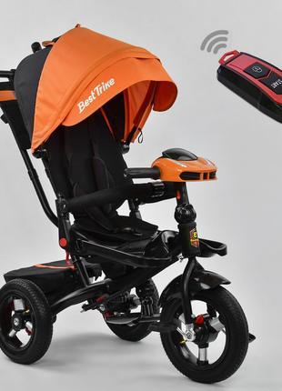 Трехколесный велосипед 3020 поворотное сиденье и складной руль