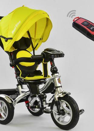 Трехколесный велосипед 7019 поворотное сиденье и складной руль