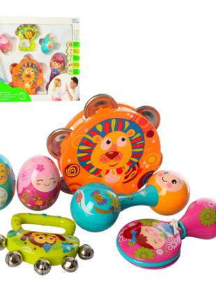 Детская погремушка 3102 Музыкальные инструменты