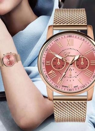 Женские часы geneva день святого валентина