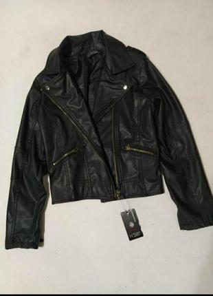 Куртка косуха с экокожи