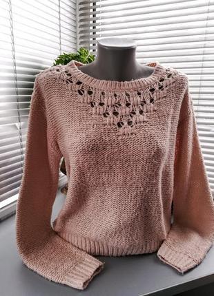 Махеровый свитер