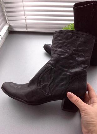 Ботинки, козаки tamaris.кожа.