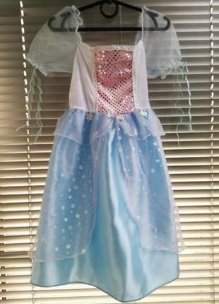 🎄новогоднее платье снежинки , зимы 🎄3-5 лет