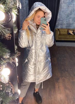 ❄новинка❄удлиненная куртка .зима ❄