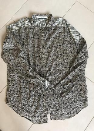 Блуза рубашка фирменная стильная scotch soda размер m-l