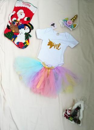🎄потрясающий  карнавальный костюм единорога  🎄1-2 года