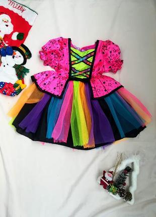 🎄карнавальное платье / костюм хлопушки /конфетки 🎄1-2-3 года