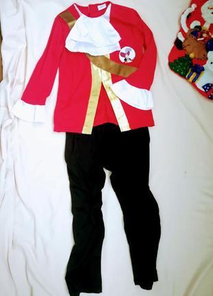 🎄новогодний костюм пират капитан крюк разбойник 🎄5-6 лет