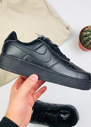 "Кроссовки Nike Air Force 1 Low ""Black"""