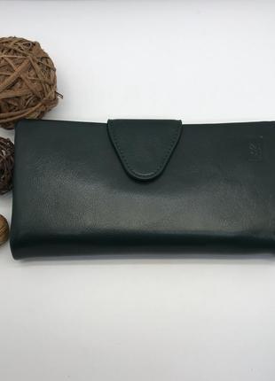 Зелёный женский кошелек somuch