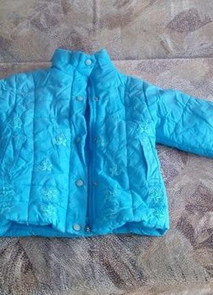Куртка демисезонная (осенне-весенняя) 2-3 года