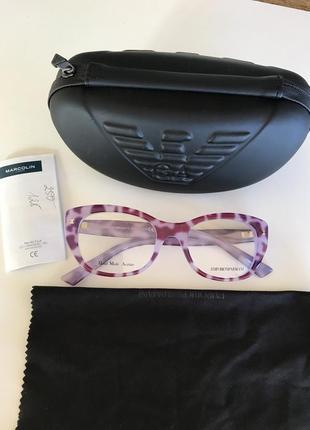 Оправа очки фирменные стильные модные armani