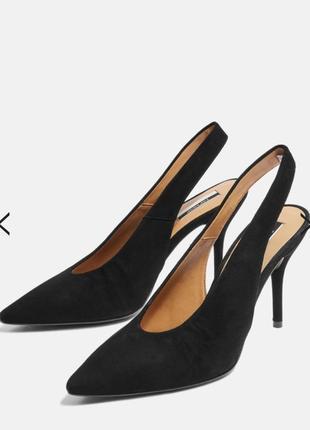 Туфли кожаные фирменные стильные модные topshop размер 39