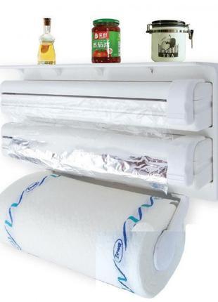 Кухонный держатель - диспенсер для бумажных полотенец, пищевой...