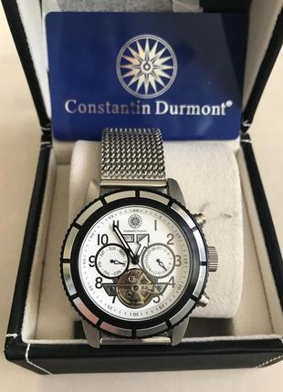 Часы наручные мужские механические дорогой бренд constantin du...