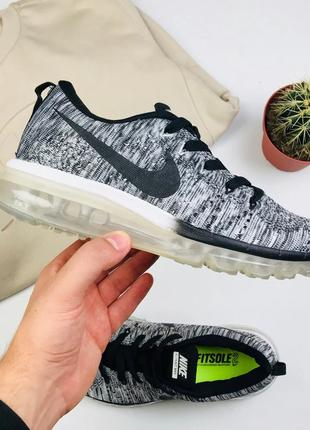 "Кроссовки Nike Air Flyknit Max 2014 ""Gray"""