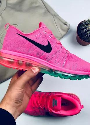 "Кроссовки Nike Air Flyknit Max 2014 ""Pink"""