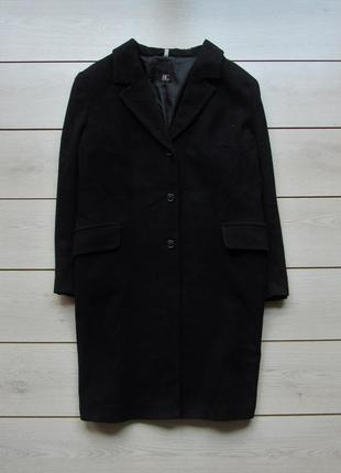 Пальто бойфренд большой размер шерсть от best connection
