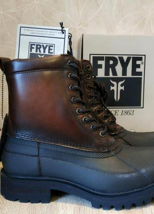 Мужские зимние ботинки frye alaska оригинал (кожаные, с мехом)