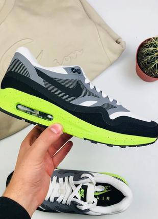 """Кроссовки Nike Air Max Lunarlon 1 """"Black/Gray/White"""""""