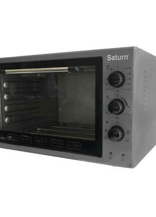 Піч електрична (42л, 1600 Вт, вертело) ST-EC3802 сіра ТМ SATURN