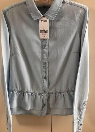 Рубашка блузка с оборкой next, p.8/s