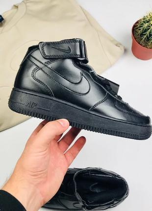 "Кроссовки Nike Air Force 1 black ""High"""