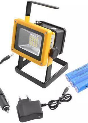 Светодиодный переносной кемпинговый фонарь прожектор, Квадратн...